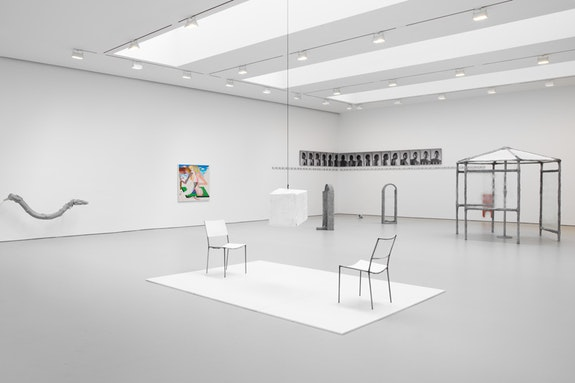 Installation view, <em>This Is Not a Prop</em>, David Zwirner, New York, 2018. Courtesy David Zwirner, New York/London/Hong Kong