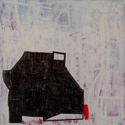 Marie Vickerilla, <em>Power of Small</em>, 2017. Oil on canvas, 54 by 54 inches. © Marie Vickerilla. Courtesy Cross Contemporary.