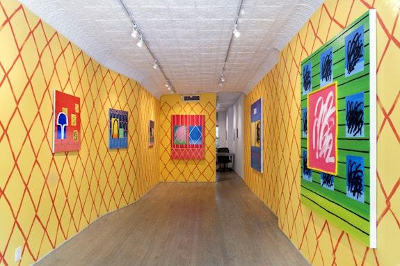 Jason Stopa, <em>The Gate</em>, installation view. Steven Harvey Fine Art Projects, 2018. Courtesy Steven Harvey Fine Art Projects.