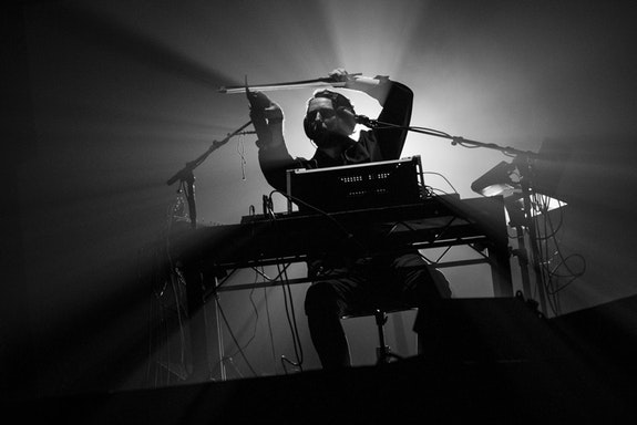 <p>Oneohtrix Point Never's <em>MYRIAD</em> at the Park Avenue Armory. Photo: Drew Gurian/Red Bull Content Pool</p>