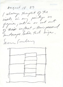 <i>A Note on Insets. Dated August 18, 1989. Courtesy the Artist.</i>
