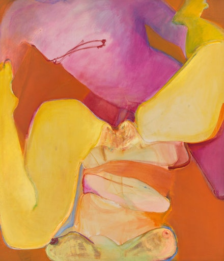 <p>Joan Semmel, <em>Untitled</em>, 1971. Oil on canvas, 69 x 81 inches. Courtesy Hall Art Foundation. © Joan Semmel.</p>