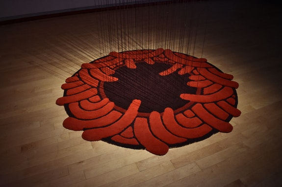 Analia Segal, <em>contra la pared</em>, installation view, Aldrich Art Museum, 2018. Courtesy the artist.