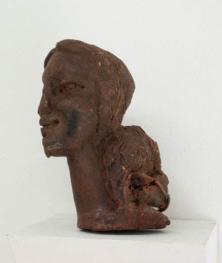 <p>John Rhoden, <em>Wax model of Richanda Rhoden, </em>c. 1970<em>. </em>Wax, 7 x 5 x 4 inches. Courtesy Soloway Gallery.</p>