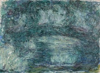 Claude Monet, <em>Le Pont japonais</em>, 1918-1924. Oil on canvas, 73 x 100 cm. Private collection. Courtesy Blondeau & Cie, Geneva. Photo : © Studio Sebert, Paris.