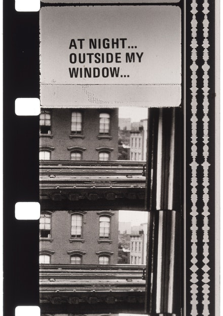 Jonas Mekas, <em>Williamsburg</em>, 2018. C-Print, 20 3/4 x 16 3/4 inches. Edition of 3 plus II AP. Courtesy James Fuentes.