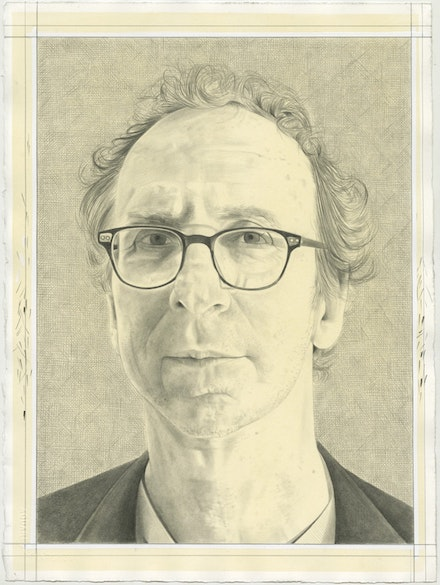 Portrait of Lane Relyea, Pencil on Paper by Phong Bui