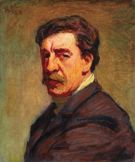 Roderic O'Conor, <em>Self-Portrait</em>, 1903. Oil on canvas, 55 x 46 cm. Photo © National Gallery of Ireland.