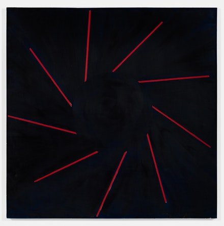 Paul Mogensen, <em>no title</em>, 2017, Oil on canvas, 72 × 72 inches. courtesy the artist and Karma, New York