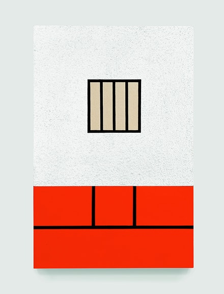 Peter Halley, <em>Prison with Conduit</em>, 1981. Courtesy the artist.
