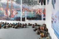Nina Wolpow, installation view: <em>Southern Oceans</em>, 2018. Courtesy Motel Gallery.