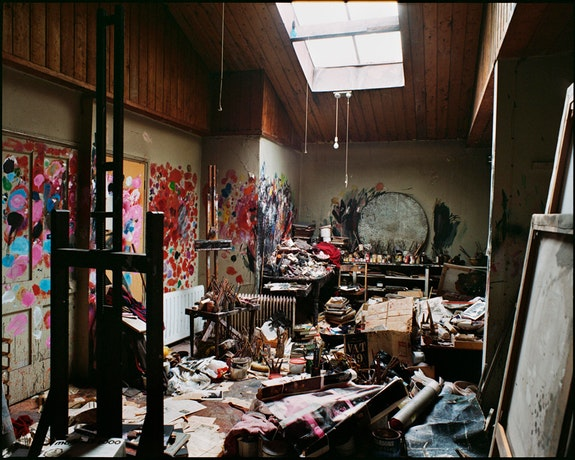 7 Reece Mews Francis Bacon Studio. Photo: Perry Ogden. Collection: Dublin City Gallery The Hugh Lane. © The Estate of Francis Bacon. All rights reserved, DACS