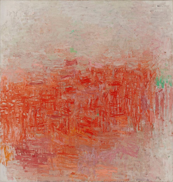 Philip Guston, <em>Painting</em>, 1954. Oil on canvas,&nbsp;160.6 x 152.7 cm. Museum of Modern Art, New York, Philip Johnson Fund, 1956. Photo: 2017. Digital image, The Museum of Modern Art, New York / Scala, Florence. &copy; The Estate of Philip Guston, courtesy Hauser &amp; Wirth.