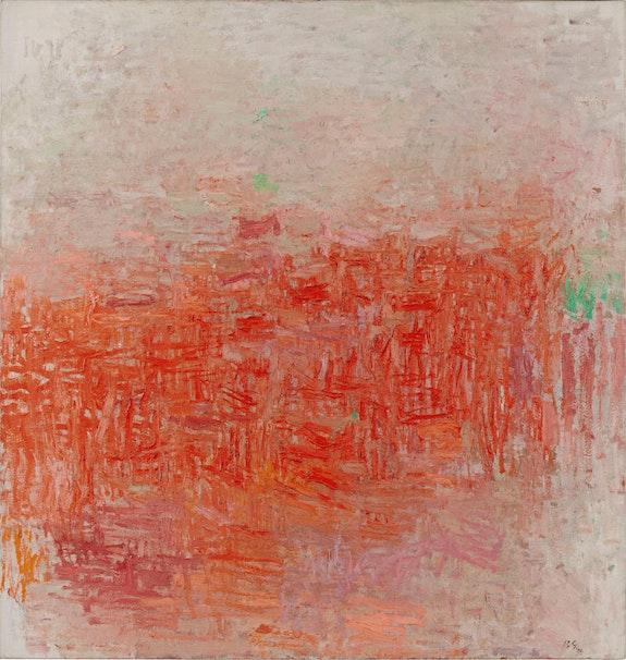 Philip Guston, <em>Painting</em>, 1954. Oil on canvas,160.6 x 152.7 cm. Museum of Modern Art, New York, Philip Johnson Fund, 1956. Photo: 2017. Digital image, The Museum of Modern Art, New York / Scala, Florence. © The Estate of Philip Guston, courtesy Hauser & Wirth.