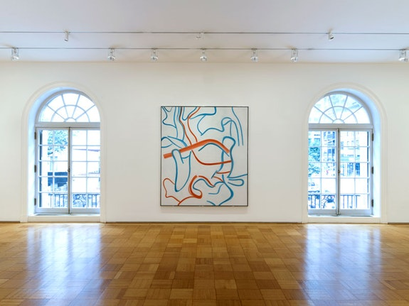 Installation view of <em>Lineage: de Kooning and His Influence</em>, Skarstedt gallery, 2018. Photo: John Berens.