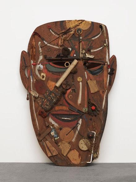 Wallace Putnam, <em>Mask of the Traveler</em>, 1936. © Estate of Wallace Putnam. David Bowie Archive. Courtesy David Zwirner.