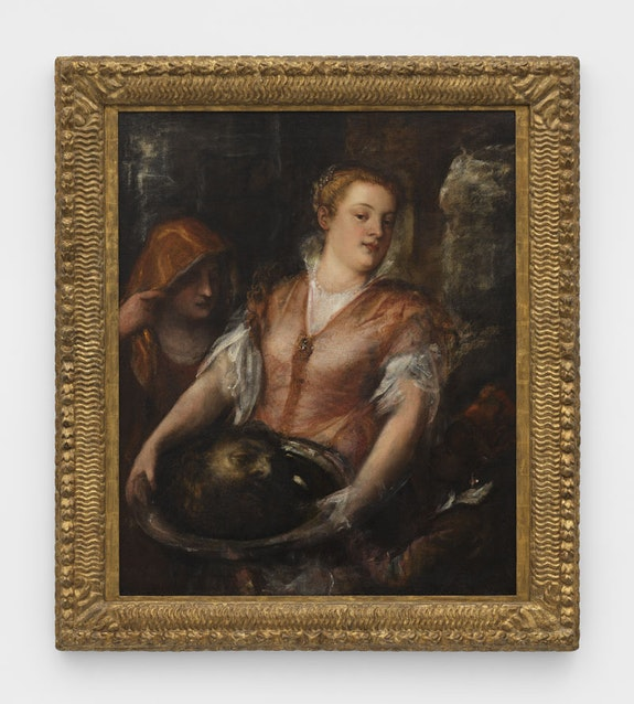 Tiziano Vecelli, known as Titian, <em>Salome with the Head of Saint John the Baptist</em>, 1560-1570. Private Collection. Courtesy Nicholas Hall and David Zwirner.