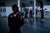 <p>Claudia Rankine and Will Rawls's <em>What Remains. </em>Photo: Ian Douglas/courtesy Danspace Project</p>