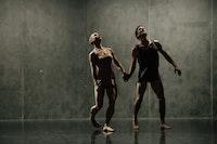<p>Jennifer Nugent & Paul Matteson in<em>another piece apart. </em>Photo: Ben McKeown</p>