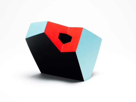 <p>Ken Price, <em>Blue, Black, and Red</em>, 1990. Fired and painted clay, 7 x 6 x 6 inches. © Estate of Ken Price, Courtesy Matthew Marks Gallery.</p>