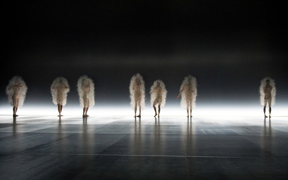 Sasha Waltz's <em>Kreatur</em>. Photo: Sebastian Bolesch.