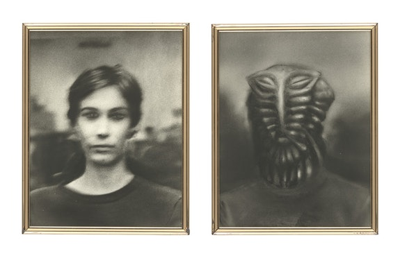Jim Shaw, <em>Martian Portraits</em>, 1978. Gelatin silver prints, 14 x 11 inches each. The Metropolitan Museum of Art. © Jim Shaw. Courtesy the artist and Blum & Poe, Los Angeles/New York/Tokyo.
