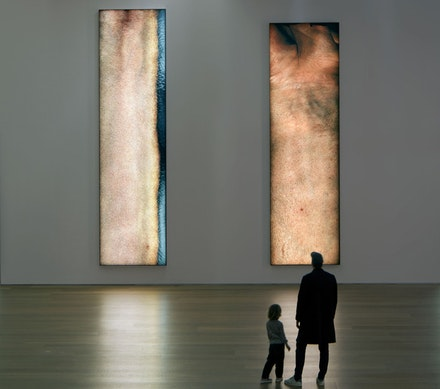 <p>Seth Price, Installation view of <em>Social Synthetic</em> at Museum Brandhorst. Photo by Constanza Melendez; courtesy of artist and Museum Brandhorst.</p>