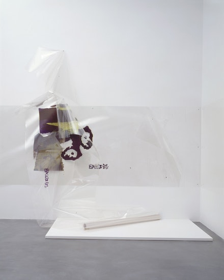 <p>Seth Price,<em> Hostage Video Still with Time Stamp</em>, 2008, installed at <em>Seth Price</em>, Kunsthalle Zurich, 2008. Courtesy of the artist and Capitain Petzel, Berlin</p>