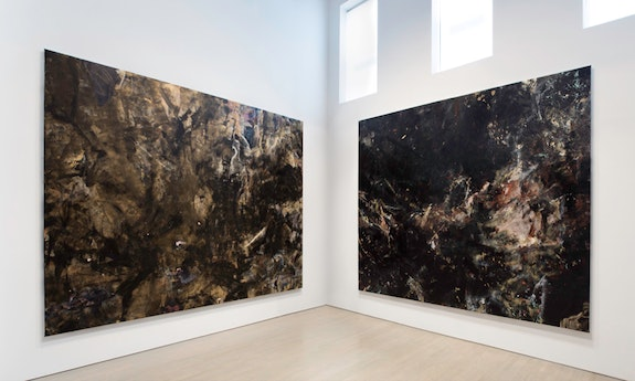 Installation view of <em>James Hyde, Western Painting–Magnasco</em>, 2018. Courtesy 524 Projects.