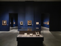 Gallery view of <em>Delacroix</em> at the Metropolitan Museum of Art, 2018–2019. Courtesy the Metropolitan Museum of Art.
