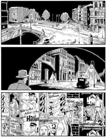 <p>From&nbsp;<em>Berlin</em>. &copy; Jason Lutes. Courtesy Drawn &amp; Quarterly.</p>