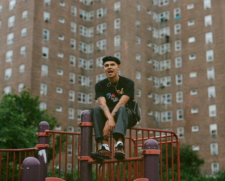 Slowthai. Photo by Aidan Cullen