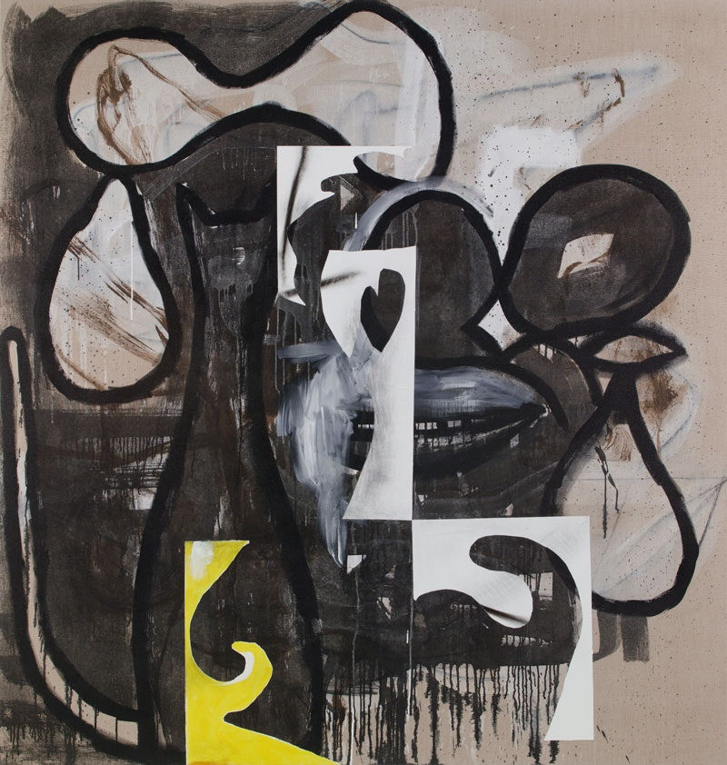 10f13c2be Charline von Heyl, Do You Peeve Cato? 2017. Acrylic and charcoal on linen,  82 x 78 inches. Courtesy the artist and Petzel, New York.