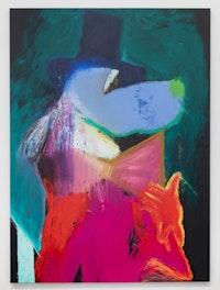 Rhys Lee, <em>Good Boy #1</em>, 2018. Oil on canvas, 78 x 58 inches. Courtesy Olsen Gruin.
