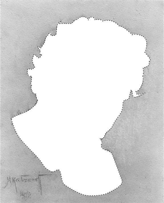 Beethoven. Drawing by Michel Katzeroff. Illustration by Mike Tully.