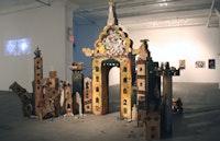 "Ela Shah, Asha Ganpat, ""Pilgrimage,"" (2007). Multimedia, interactive installation. Courtesy Exit Art."