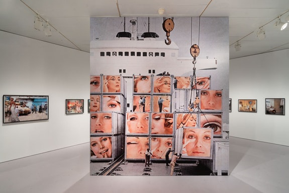Martha Rosler, <em>Irrespective</em>, installation view, 2018 – 2019, The Jewish Museum, New York. Photo: Jason Mandella.