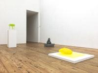 Installation view, <em>Rona Pondick</em> at Marc Straus, New York, 2018. Courtesy Marc Straus Gallery.