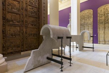 Saba Innab, <em>What is Unseen cannot be Broken</em>, 2018, 57th Carnegie International. © Carnegie Museum of Art, Pittsburgh. Photo: Bryan Conley.