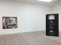 <em>Black Mirror</em>, installation view, Saatchi Gallery, 2018.  Photo by the author.