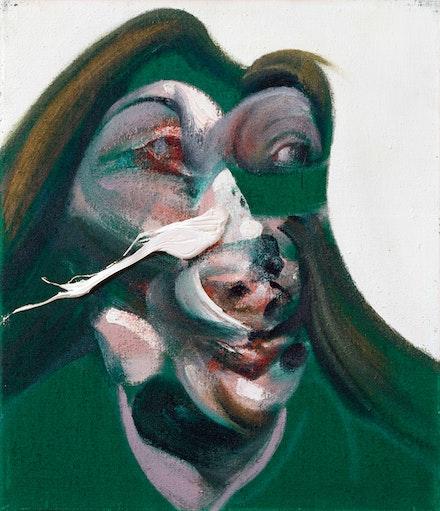 Francis Bacon, <em>Study for Head of Isabel Rawsthorne</em>, 1967. Courtesy Ordovas.