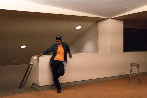 PopeL, <em>The Escape</em>, 2018. Courtesy the Art Institute of Chicago.
