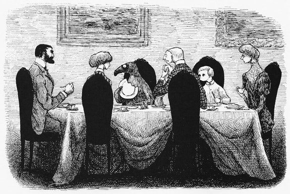 Edward Gorey, <em>The Gashlycrumb Tinies</em>. (Simon and Schuster, 1963) Used with Permission of Little, Brown and Company.