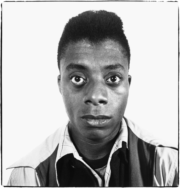 <p>Richard Avedon, <em>James Baldwin, writer, Harlem, New York</em>, 1945. © The Richard Avedon Foundation. Courtesy David Zwirner</p>