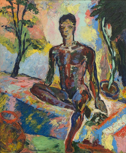 <p>Beauford Delaney, <em>Dark Rapture (James Baldwin)</em>, 1941. Courtesy Michael Rosenfeld Gallery LLC, New York, NY and David Zwirner.</p>