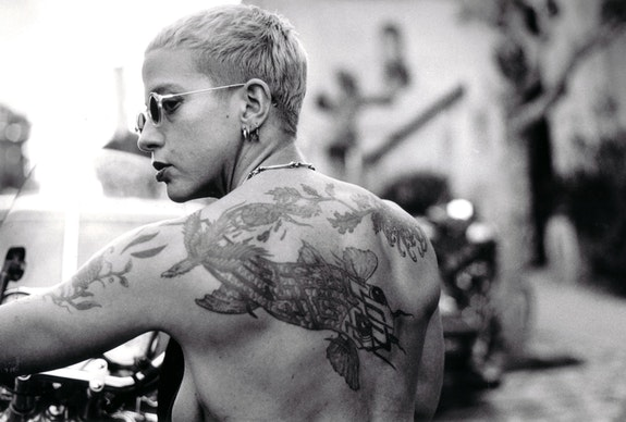 <p>Kathy Brew, <em>Portraits of Kathy Acker</em>, San Francisco, 1991. © Kathy Brew.</p>