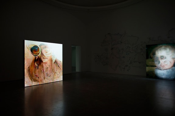 <p>Pierre Huyghe, <em>UUmwelt</em>, Installation view, Serpentine Gallery, London, 2018 &ndash; 2019. &copy; readsread.info. Courtesy of the artist and Serpentine Galleries.</p>