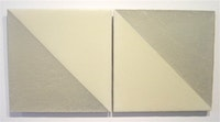 "Florence Pierce ""Untitled #247 and #248,"" 1998. 