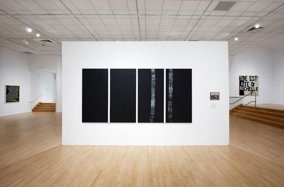 Rochelle Feinstein, Image of an Image, installation view, The Bronx Museum of the Arts, 2018–2019.  Photo: Argenis Apolinario.