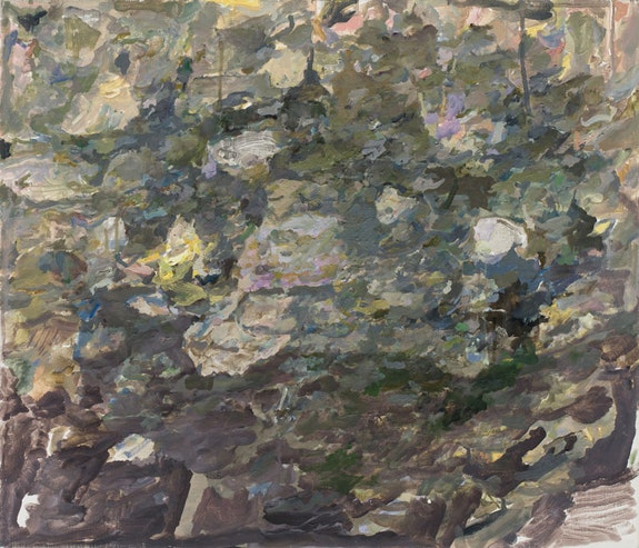 Max Kozloff, <em>Storm</em>, 2013. Oil on linen, 19 x 22 inches. Courtesy the artist and DC Moore Gallery, New York.